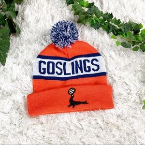 Rare Goslings Rum ORANGE Pom Beanie- Like New!